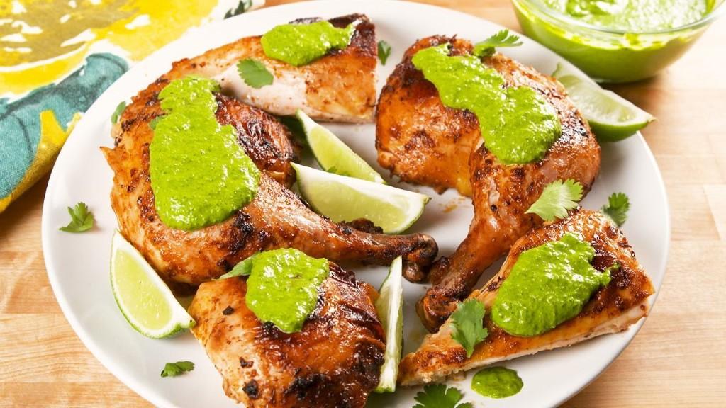 Peruvian Chicken With Aji Verde Is So Delicious