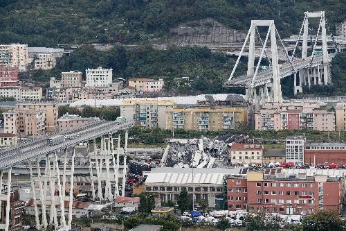 Genoa announces $229M project to replace collapsed bridge
