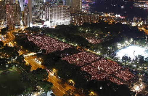Tens of Thousands Gather to Mark 1989 Tiananmen Square Protests: Photos
