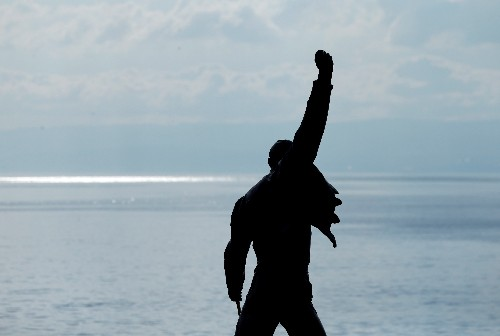 "Freddie Mercury returns in release of stripped-back version of ""Time"""
