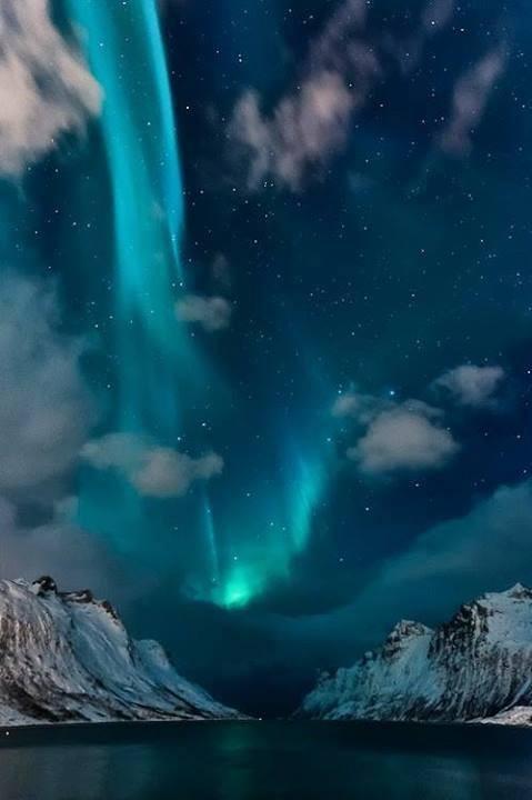 Aurora Boreal da Noruega.