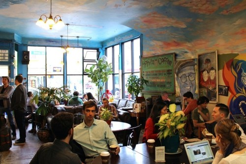 I visited the coffee shop that just raised $15 million from tech investors to see what all the fuss was about