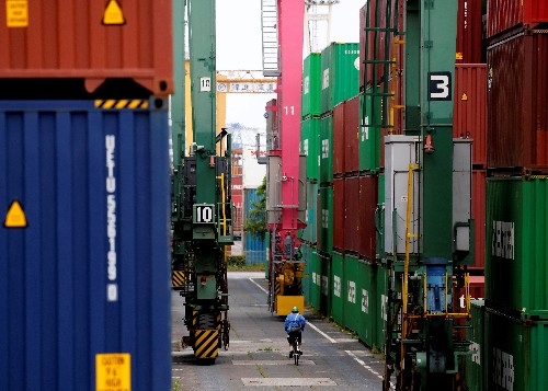 Japan's exports slip for eighth month, sales to China drop as recession fears grow