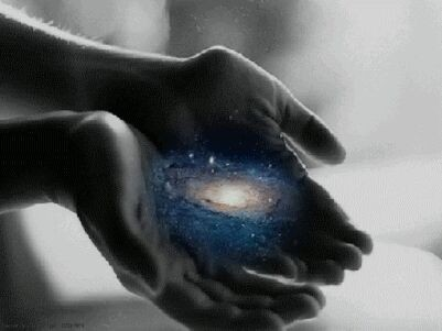 The universe is in your hands.