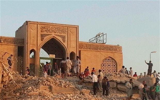 Iraq jihadists blow up 'Jonah's tomb' in Mosul