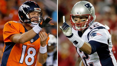 Tom Brady Vs. Peyton Manning: By The Numbers