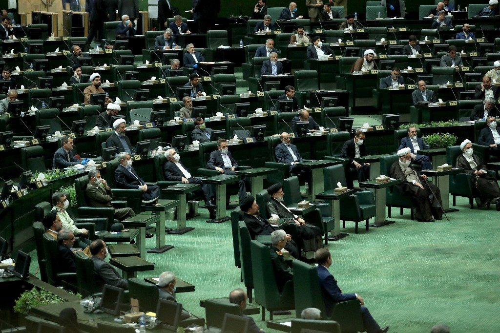 New Iran parliament convenes under strict coronavirus curbs