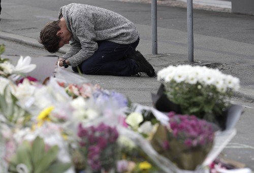 Mourning the Christchurch Victims: Pictures