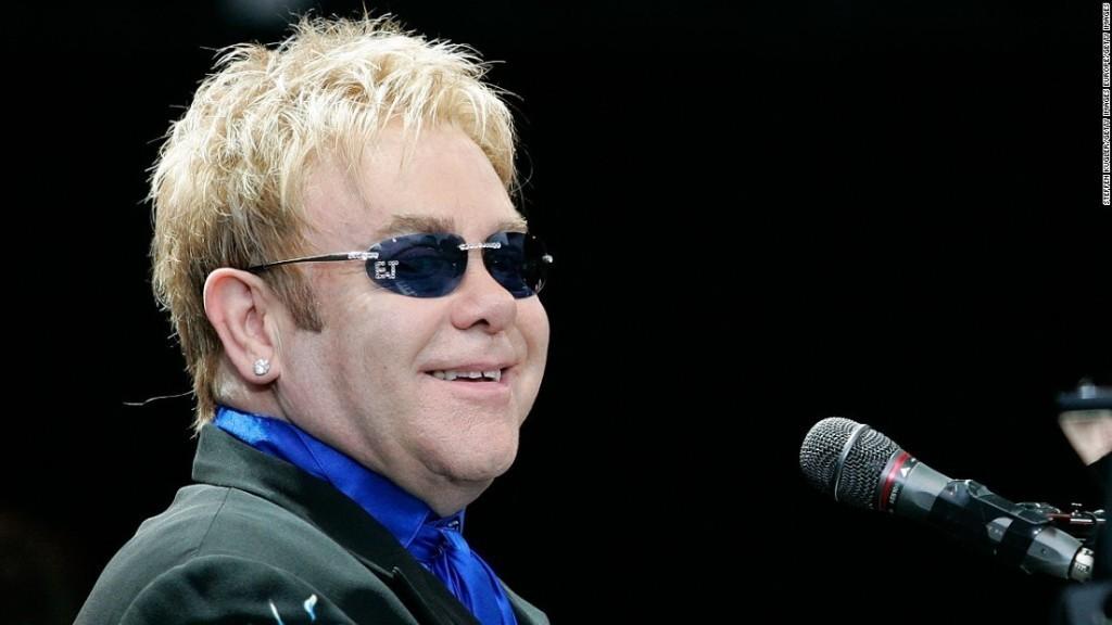 Elton John cancels Las Vegas shows after hospitalization