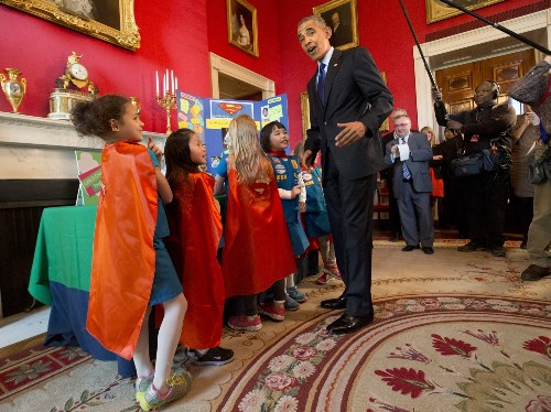 President Obama Hosts Science Fair
