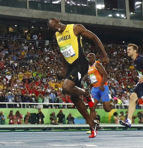 Big Night for Bolt, Eaton; Bad One for Lochte, on Day 13 in Rio: Pictures