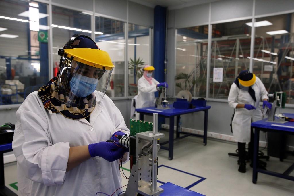 Moroccan companies begin ventilator production