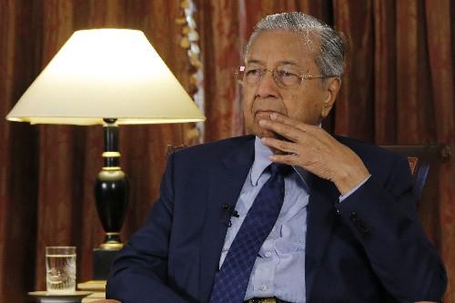Malaysia PM on China, Rohingya, Singapore, graft and sea row