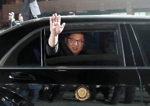 With limos and private train, Kim Jong Un travels in style