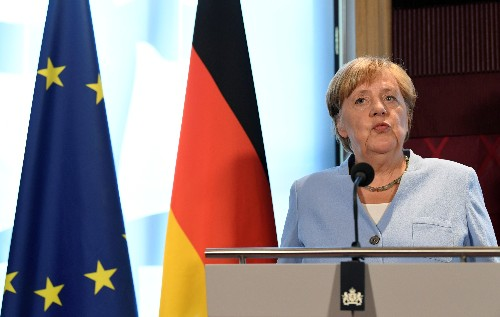 Merkel: '30 days' Brexit remarks were meant to highlight urgency