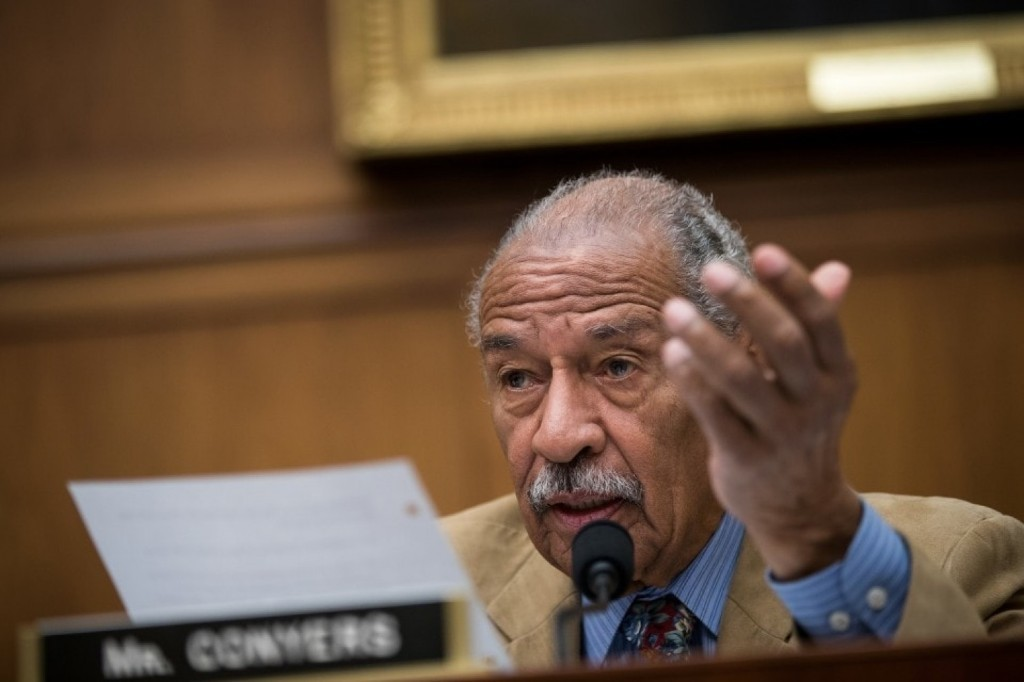 Why could John Conyers lose his job over sexual harassment allegations while other politicians stay?