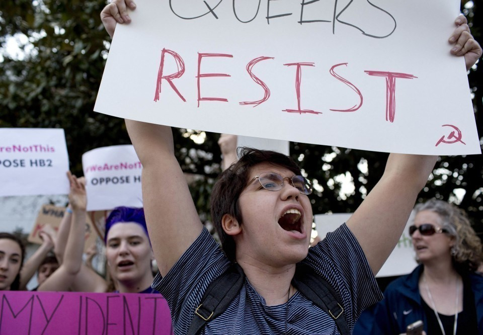 North Carolina lawmakers leave 'bathroom bill' in place