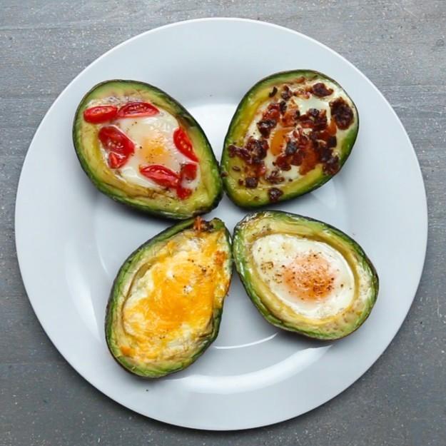 Baked Avocado Eggs Recipe by Tasty