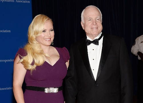 Meghan McCain fires back at Trump tweets against her father