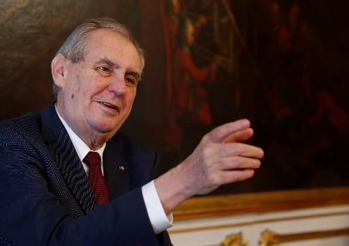 Czech president to go into hospital for convalescence - spokesman