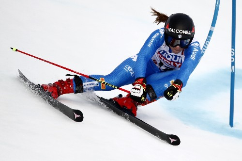 Alpine skiing: Olympic champion Goggia wins Crans-Montana downhill