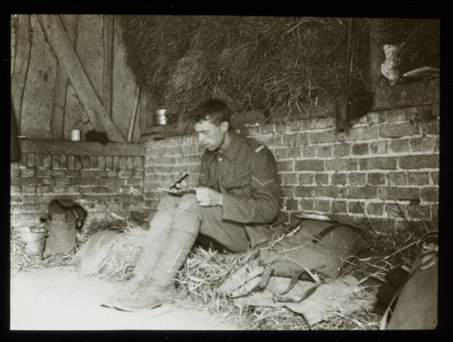 First World War Pictures Show Life In The Trenches, Captured By Soldier George Hackney In 1915 And 1916