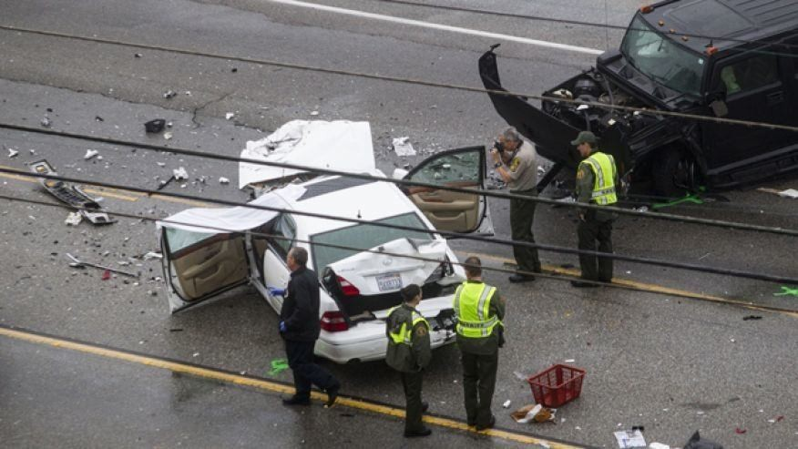 Jenner spokesman denies athlete was texting while driving in deadly Malibu crash