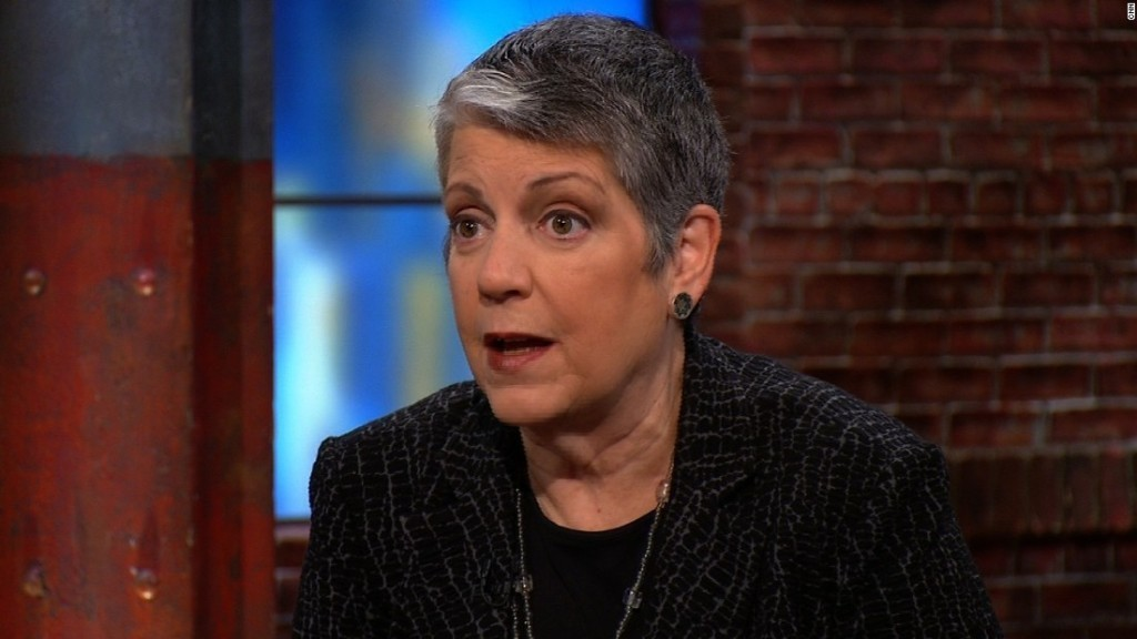 Napolitano: DACA recipients 'between a rock and a hard place'