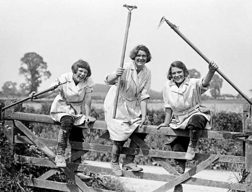 WW1 women at work: In pictures