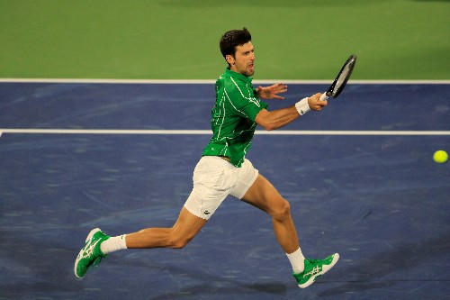 Djokovic bamboozles despairing Khachanov with drop shots in Dubai