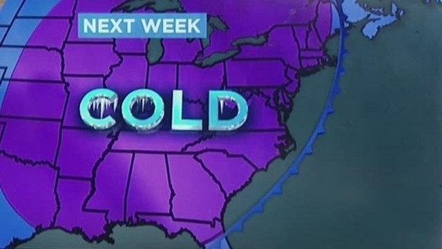 Arctic snap will ice northern states