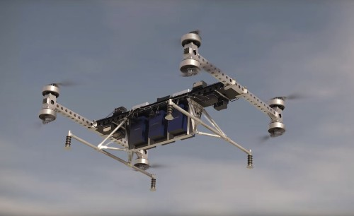 Boeing's prototype drone can carry 500 lbs of cargo