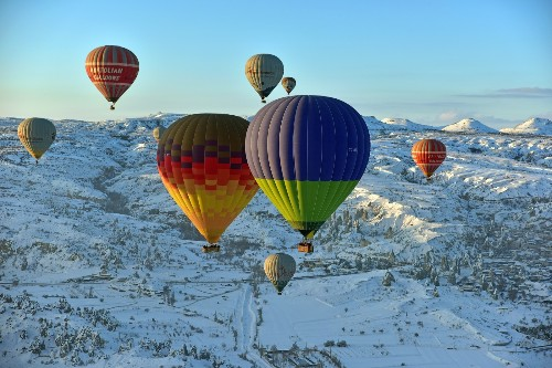 Up, Up and Away: Hot Air Balloons in Pictures