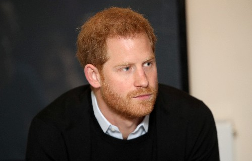 UK's Prince Harry sees commandos go through their gruelling paces