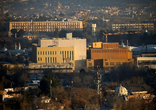 Exclusive: U.S. accelerates plan to drastically downsize Kabul embassy - sources