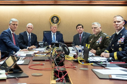 Situation Room: 2 photos capture vastly different presidents