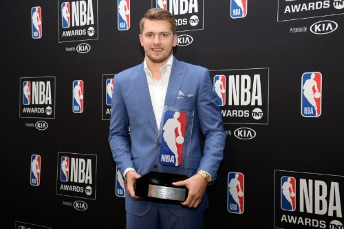 NBA awards: Doncic top rookie, Siakam most improved