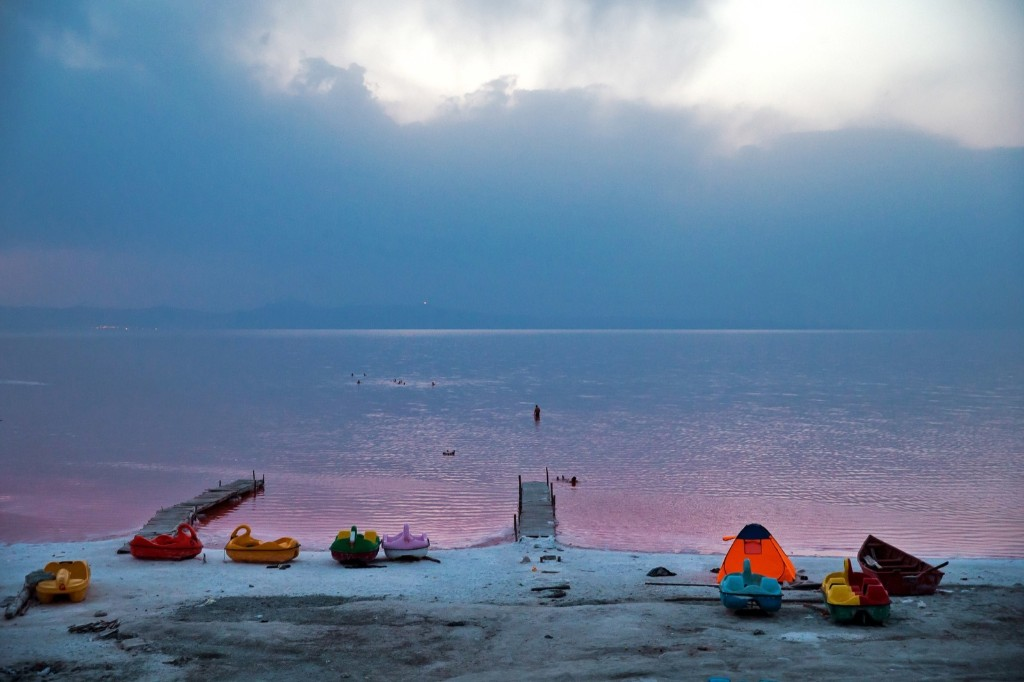 Iran's Lake Urmia Gets Slightly Replenished: Pictures
