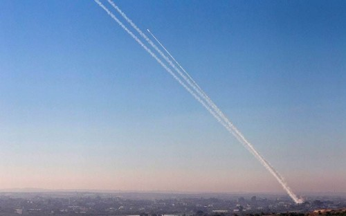 Israeli Defence Forces video claims to show Hamas firing rockets from civilian areas