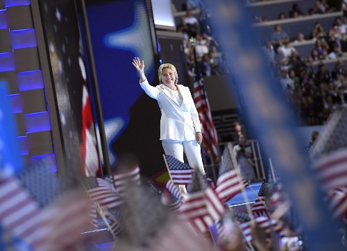 It's Hillary's Night at the DNC: Pictures