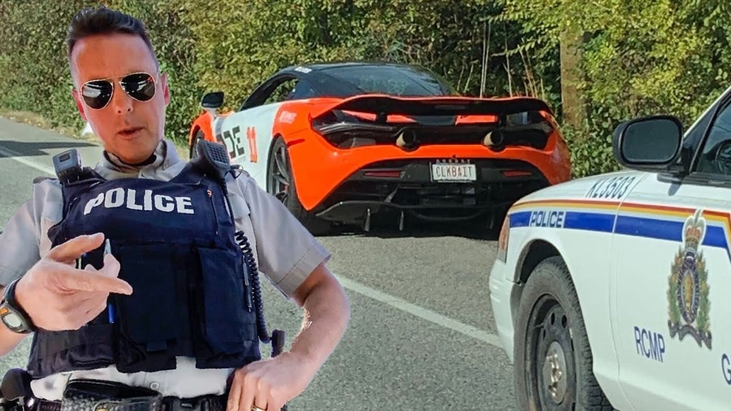 POLICE PULL OVER THE WRONG SUPERCAR OWNER... CONFRONTATIONAL