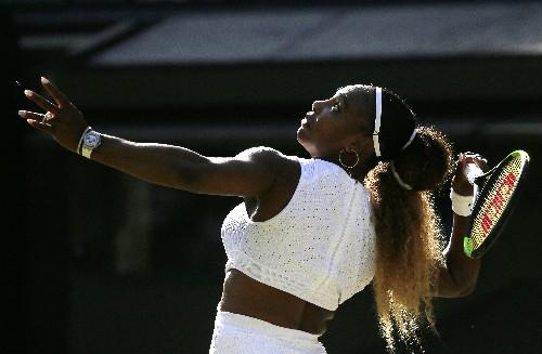Wimbledon Glance: Serena plays semifinal rematch vs. Goerges
