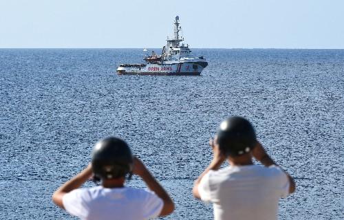 L'Espagne propose à l'Open Arms d'accoster à Algesiras