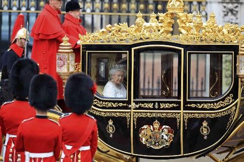 Queen Elizabeth Opens Parliament: Pictures