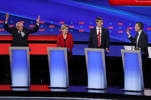 Highlights From the Second Democratic Debate: Pictures