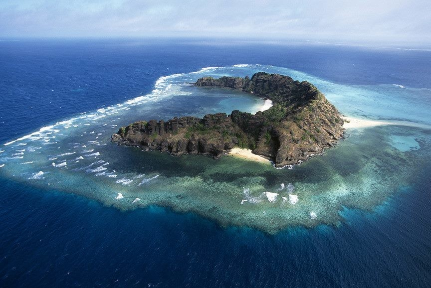Heavenly land/ island on earth