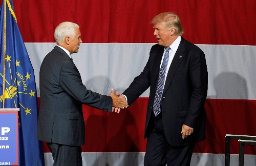 Trump Names Pence As His Running Mate: Pictures