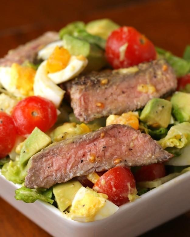 Steak and Avocado Salad Recipe by Tasty