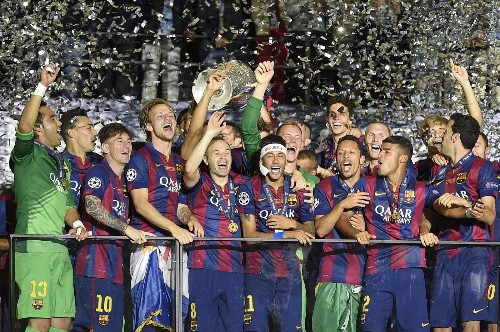 Barcelona Takes Champions League Title: Pictures