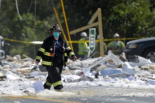Worker who herded people out before explosion is called hero